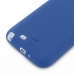 Samsung Galaxy Note 2 Luxury Silicone Soft Case (Blue) handmade leather case by PDair