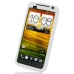 HTC One X+ Plus Luxury Silicone Soft Case (White) custom degsined carrying case by PDair