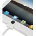 iPad 3G Luxury Silicone Soft Case (White) protective carrying case by PDair