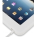 iPad 3G Luxury Silicone Soft Case (White) handmade leather case by PDair