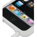 iPod Touch 2nd Luxury Silicone Soft Case (White) protective carrying case by PDair