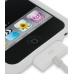 iPod Touch 2nd Luxury Silicone Soft Case (White) genuine leather case by PDair