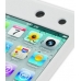 iPod Touch 4th Luxury Silicone Soft Case (White) genuine leather case by PDair