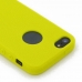 iPhone 5 5s Luxury Silicone Soft Case (Yellow) protective carrying case by PDair