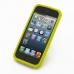 iPhone 5 5s Luxury Silicone Soft Case (Yellow) top quality leather case by PDair