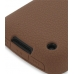 BlackBerry Curve 8520 Luxury Silicone Soft Case (Chocolate Brown) protective carrying case by PDair