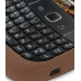 BlackBerry Curve 8520 Luxury Silicone Soft Case (Chocolate Brown) genuine leather case by PDair