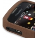 BlackBerry Curve 8520 Luxury Silicone Soft Case (Chocolate Brown) top quality leather case by PDair