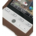 HTC Hero Luxury Silicone Soft Case (Chocolate Brown) genuine leather case by PDair