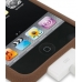 iPod Touch 3rd 2009 Luxury Silicone Soft Case (Chocolate Brown) handmade leather case by PDair