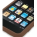 iPod Touch 3rd 2009 Luxury Silicone Soft Case (Chocolate Brown) top quality leather case by PDair