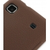 Samsung Vibrant Galaxy S Luxury Silicone Soft Case (Chocolate Brown) protective carrying case by PDair