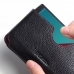 LG G4 Leather Wallet Sleeve Case (Red Stitching) genuine leather case by PDair
