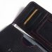 Motorola DROID Turbo Leather Wallet Sleeve Case (Red Stitching) handmade leather case by PDair