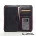 Motorola DROID Turbo Leather Wallet Sleeve Case (Red Stitching) offers worldwide free shipping by PDair