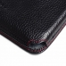 Samsung Galaxy S5 Leather Wallet Sleeve Case (Red Stitching) top quality leather case by PDair