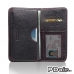 Samsung Galaxy Note 2 Leather Wallet Sleeve Case (Red Stitching) offers worldwide free shipping by PDair