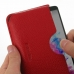 LG G3 Leather Wallet Sleeve Case (Red Pebble Leather) handmade leather case by PDair