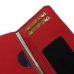 Motorola DROID Turbo Leather Wallet Sleeve Case (Red Pebble Leather) handmade leather case by PDair