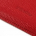 Motorola DROID Turbo Leather Wallet Sleeve Case (Red Pebble Leather) custom degsined carrying case by PDair