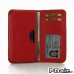 Motorola DROID Turbo Leather Wallet Sleeve Case (Red Pebble Leather) offers worldwide free shipping by PDair