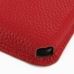 Samsung Galaxy Note 4 Leather Wallet Sleeve Case (Red Pebble Leather) custom degsined carrying case by PDair