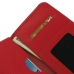 Samsung Galaxy Note 5 Leather Wallet Sleeve Case (Red Pebble Leather) handmade leather case by PDair