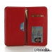 Samsung Galaxy Note 5 Leather Wallet Sleeve Case (Red Pebble Leather) offers worldwide free shipping by PDair