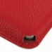Samsung Galaxy Note 3 Leather Wallet Sleeve Case (Red Pebble Leather) custom degsined carrying case by PDair
