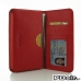 Samsung Galaxy Note 3 Leather Wallet Sleeve Case (Red Pebble Leather) offers worldwide free shipping by PDair