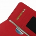 Samsung Galaxy Note 2 Leather Wallet Sleeve Case (Red Pebble Leather) handmade leather case by PDair