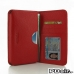 Samsung Galaxy Note 2 Leather Wallet Sleeve Case (Red Pebble Leather) offers worldwide free shipping by PDair