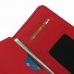 Nexus 6 Leather Wallet Sleeve Case (Red Pebble Leather) handmade leather case by PDair