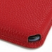 Nexus 6 Leather Wallet Sleeve Case (Red Pebble Leather) custom degsined carrying case by PDair