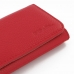 iPhone 5 5s Leather Wallet Case (Red Pebble Leather) handmade leather case by PDair