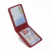 Driving License Leather Case (Red Pebble Leather) genuine leather case by PDair