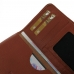 LG G3 Leather Wallet Sleeve Case (Brown Pebble Leather) handmade leather case by PDair
