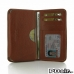 Samsung Galaxy E7 Leather Wallet Sleeve Case (Brown Pebble Leather) offers worldwide free shipping by PDair