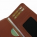 Samsung Galaxy A7 Leather Wallet Sleeve Case (Brown Pebble Leather) handmade leather case by PDair