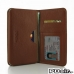 iPhone 6 6s Plus Leather Wallet Sleeve Case (Brown Pebble Leather) offers worldwide free shipping by PDair