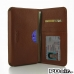 Samsung Galaxy Note 4 Leather Wallet Sleeve Case (Brown Pebble Leather) offers worldwide free shipping by PDair