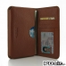 Samsung Galaxy Note Edge Leather Wallet Sleeve Case (Brown Pebble Leather) offers worldwide free shipping by PDair