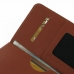 Samsung Galaxy Note 3 Leather Wallet Sleeve Case (Brown Pebble Leather) handmade leather case by PDair