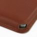 Samsung Galaxy Note 3 Leather Wallet Sleeve Case (Brown Pebble Leather) custom degsined carrying case by PDair