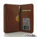 Samsung Galaxy Note 3 Leather Wallet Sleeve Case (Brown Pebble Leather) offers worldwide free shipping by PDair