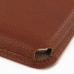 Samsung Galaxy Note 2 Leather Wallet Sleeve Case (Brown Pebble Leather) custom degsined carrying case by PDair