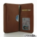 Samsung Galaxy Note 2 Leather Wallet Sleeve Case (Brown Pebble Leather) offers worldwide free shipping by PDair