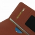 Nexus 6 Leather Wallet Sleeve Case (Brown Pebble Leather) handmade leather case by PDair