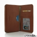 Nexus 6 Leather Wallet Sleeve Case (Brown Pebble Leather) offers worldwide free shipping by PDair