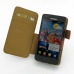 Samsung Galaxy S2 Leather Flip Cover (Brown Pebble Leather) top quality leather case by PDair